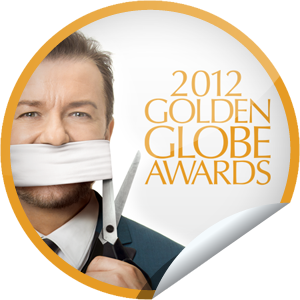 Ricky Gervais Golden Globe Awards 2012